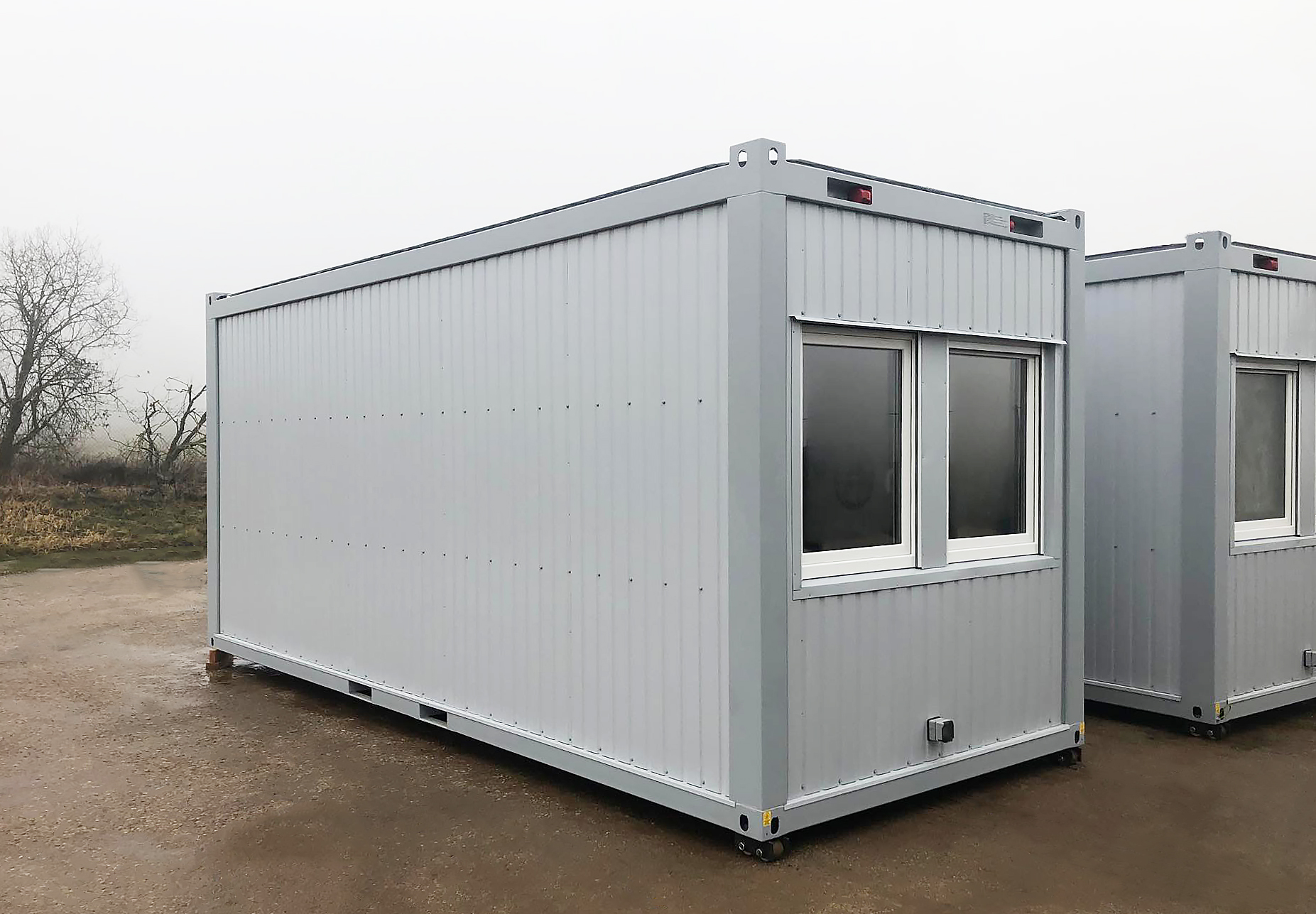 Mobile offices for military