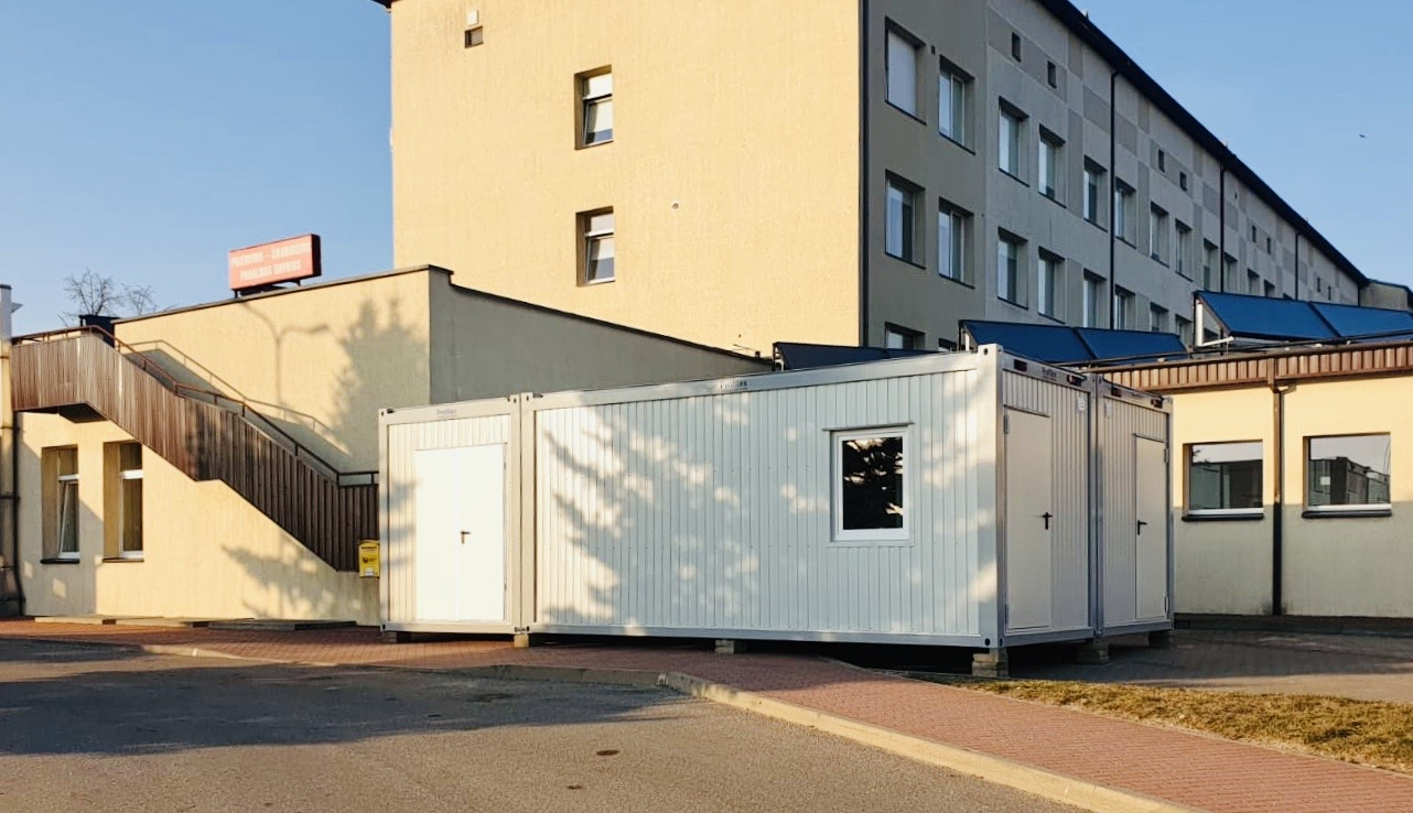 Premises for Covid-19 patients' quarantine and treatment