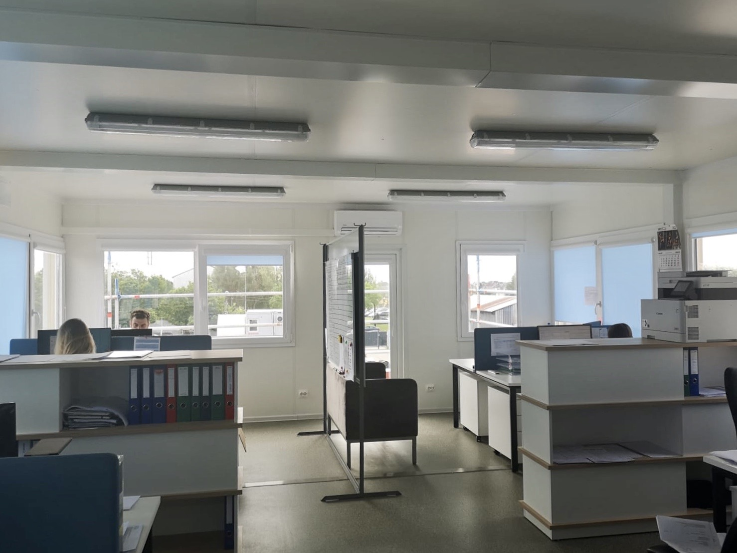 Office premises in manufacturing facility